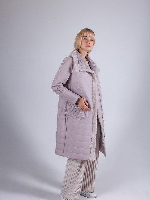 2908 пальто с верблюжьей шерстью