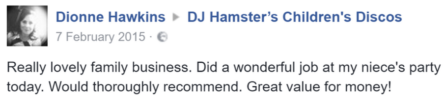 2015 Dionne Hawkins - DJ Hamster - Faceb