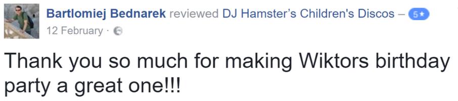 2017 Bartlomiej Bednarek - DJ Hamster -