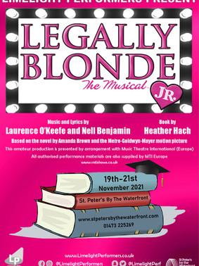 Legally Blonde Jr - November 2021