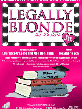 Legally Blonde Jr - November 2021