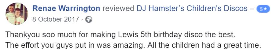 2017 - Renae Warrington - DJ Hamster - F