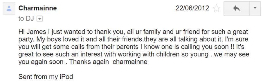 2012 - Charmainne - DJ Hamster - Email.p