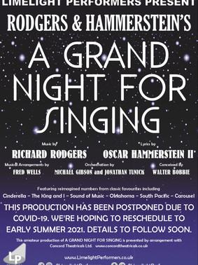 A Grand Night For Singing - Summer 2021