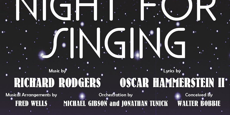 Auditions - A Grand Night for Singing