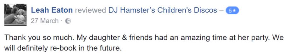 2017 Leah Eaton - DJ Hamster - Facebook.