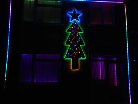 The Aleksic Christmas Lights 2018