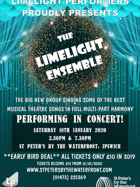 The Limelight Ensemble - January 2020