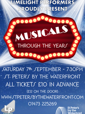 Musicals Through the Years - September 2019