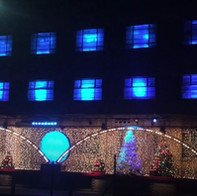 Co-Op Juniors Christmas Light Display