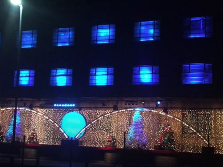 Co-Op Juniors Christmas Light Display