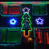 The Aleksic Christmas Lights 2019