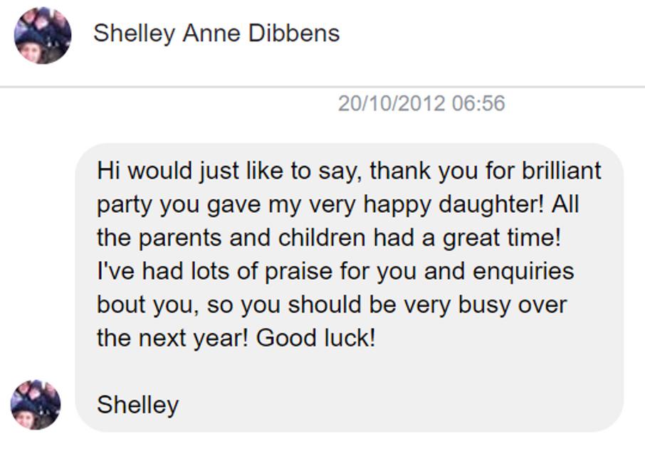 2012 - Shelley Anne Dibbens - DJ Hamster