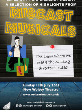 Miscast Musicals (Highlights) - July 2021 - New Wolsey Theatre