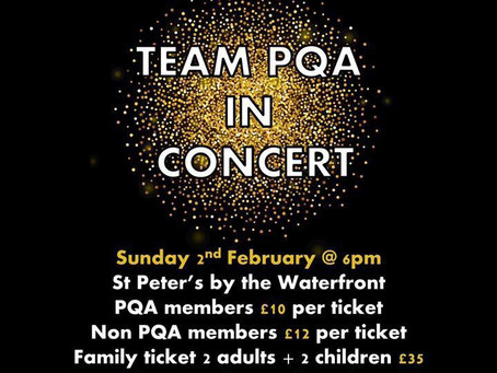 Team PQA in Concert - St. Peter's by the Waterfront