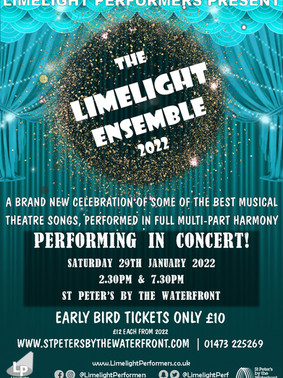 The Limelight Ensemble 2022 - January 2022