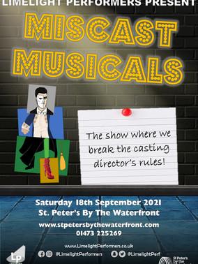 Miscast Musicals - September 2021
