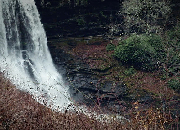 Waterfall nearby the mountains of Tennessee
