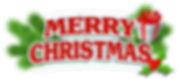 Merry_Christmas_Decor_with_Gift_PNG_Clip