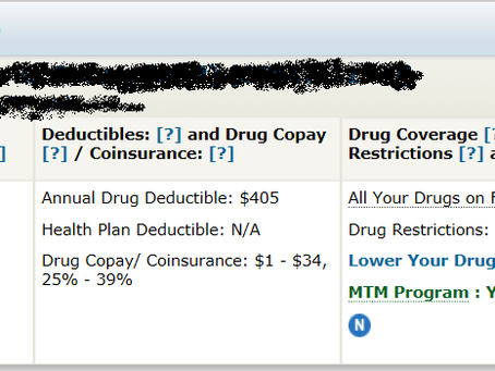 Medicare Part D open enrollment