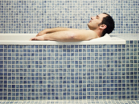 Yes, I'm a guy and I take baths...the importance of relaxation