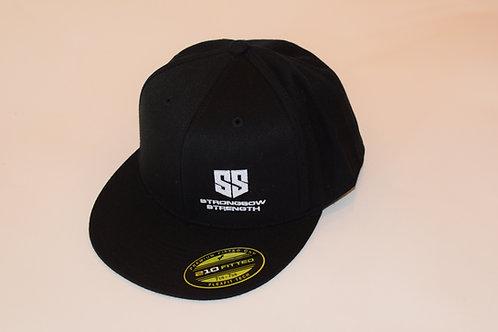 Flex Fit Black SS Logo Cap