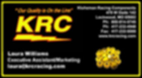 KRC Business Card Front Laura Williams.j
