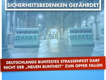 """Dr. Neuendorf (AfD): Deutschlands buntestes Straßenfest darf nicht der """"neuen Buntheit"""" zum Opfer fa"""