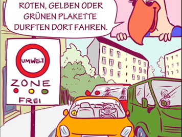 "AfD Comic ""Emilia & Friends"" - Folge 1: Das Feinstaubmärchen"