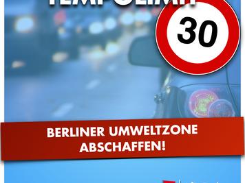 Berliner Umweltzone abschaffen