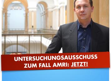 CDU und Rotrotgrün müssen Blockade eines U-Ausschusses zum Fall Amri aufgeben!