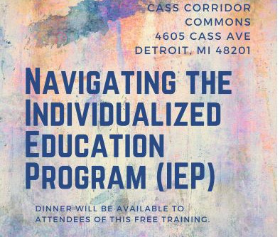 Navigating the Individualized Education Program (IEP)