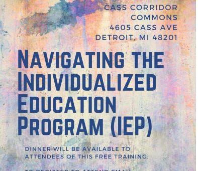 Navigating the Individualized Education Program (IEP)