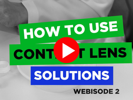 How To Use Contact Lens Solutions
