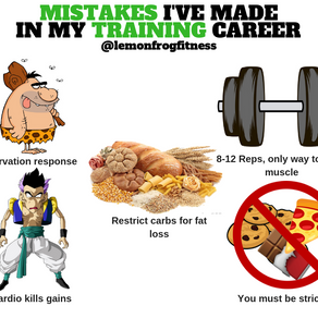 Mistakes I've Made In My Training Career