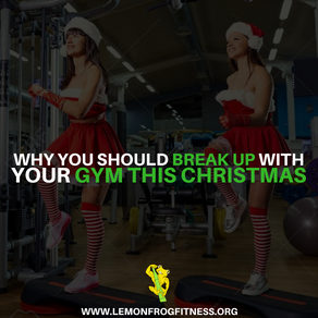 Why You Should Break Up with Your Gym This Christmas