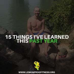 15 Things I've Learned This Past Year