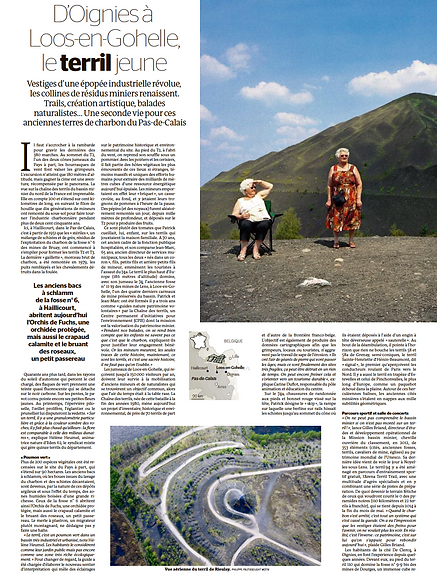 Le Monde (16 janvier) 1