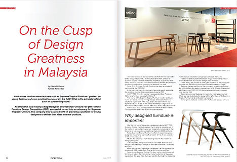 Furnishnow magazine Francis Lye Design