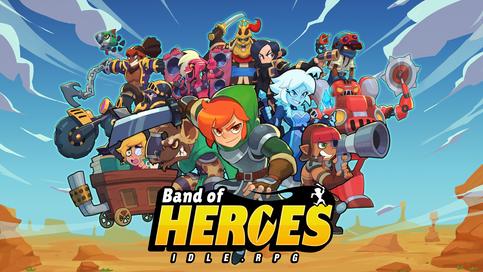 Band of Heroes : Idle RPG