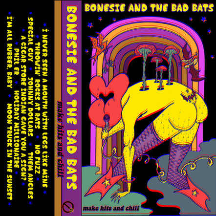 BONESIE AND THE BAD BATS 'MAKE HITS AND CHILL' CS (TAHRC-215)