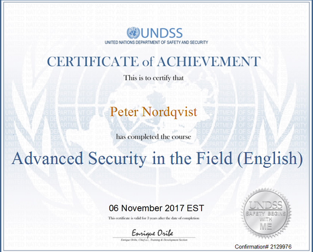 UNDSS Certicitace of Achivement 2.png