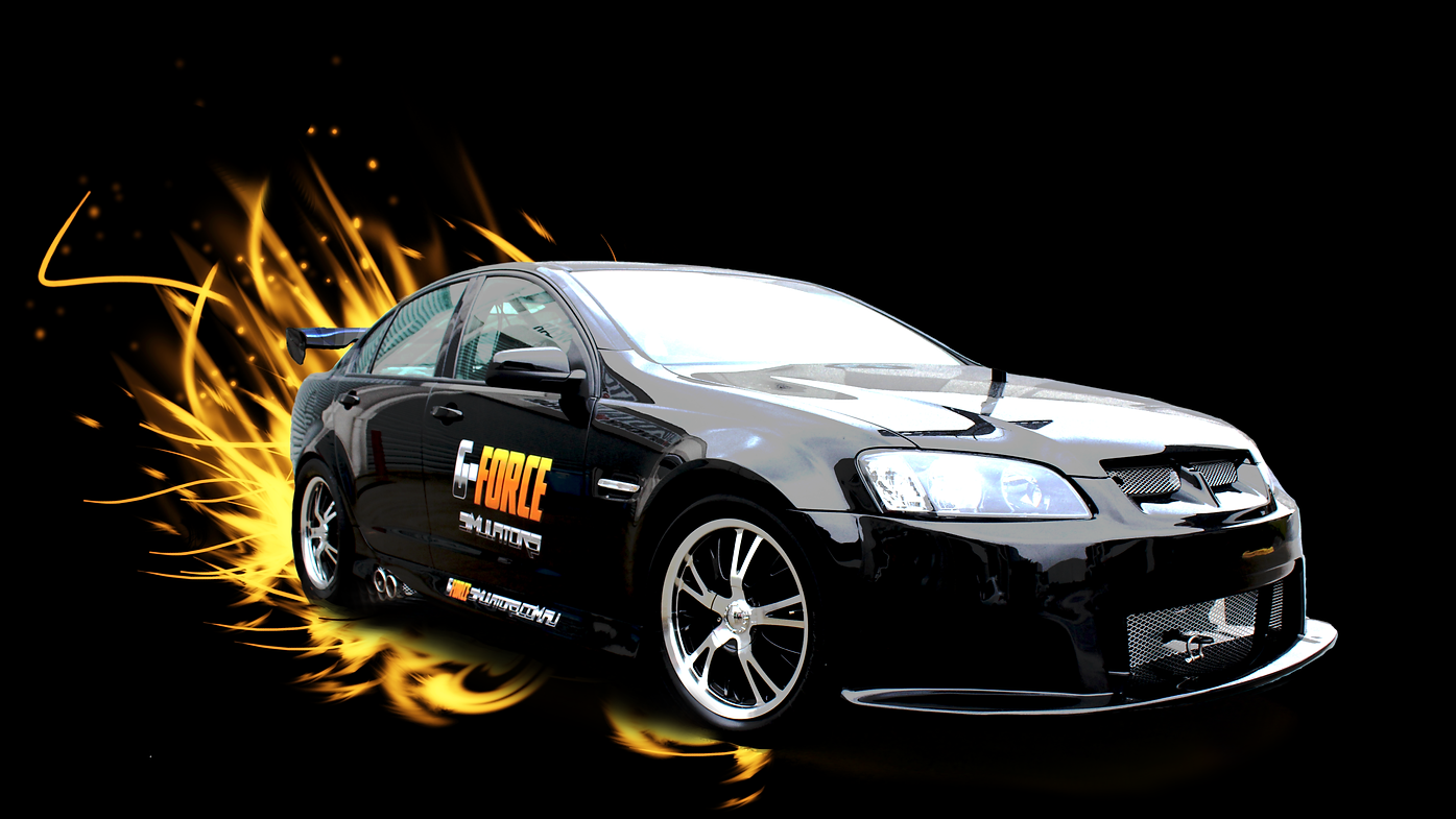 G-Force V8 Supercar Race Car Simulator