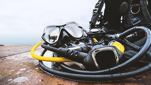 Masque de plongée sous