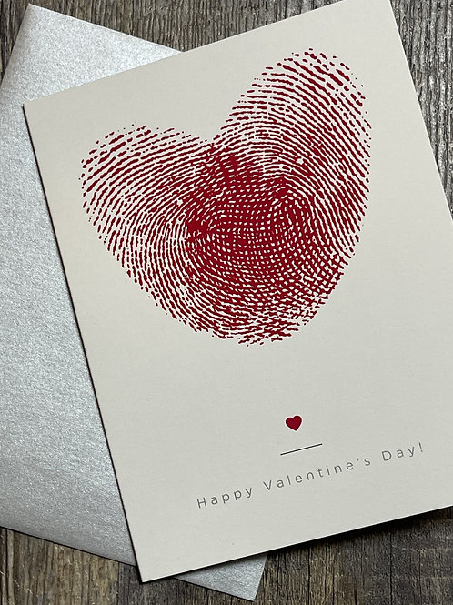 Thumb Love Valentines Day Card