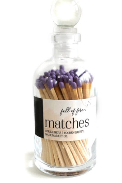 Lavender Full of Fire Matches