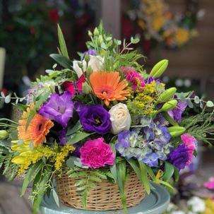 Basket Full of Color