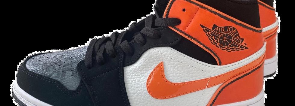 """""""Go Pokes"""" Oklahoma State custom Nike Jordan 1s"""