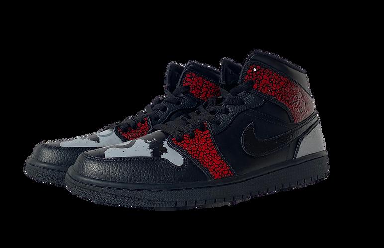 Bonsai Jordan 1s - custom Nikes by artist Jack Fowler