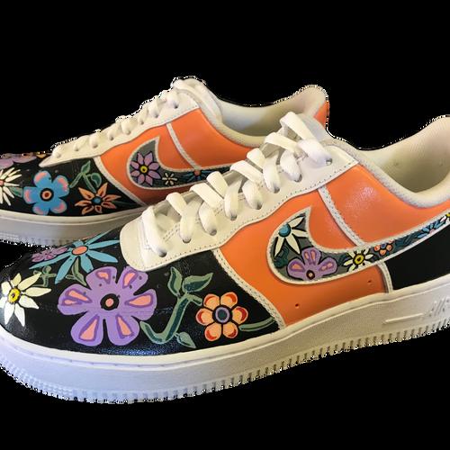 """""""Air Flora"""" Nike Air Force 1s"""